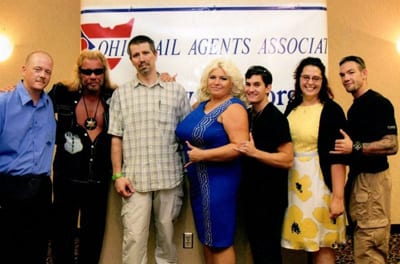 The Be Free Bail Bonds Team with Dog The Bounty Hunter